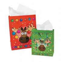 Christmoose Gift Bag